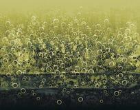 Yellow bubbles Stock Photos