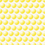 Yellow Bubbly design background Stock Photo