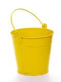 Yellow Bucket Stock Image