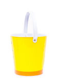 Yellow bucket Stock Photos