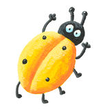 Yellow bug Royalty Free Stock Images