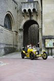 A yellow Bugatti T35A Royalty Free Stock Photo