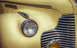 Yellow 1940 Buick Convertible Classic Car Stock Photo