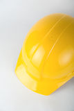 Yellow builder helmet Royalty Free Stock Photography