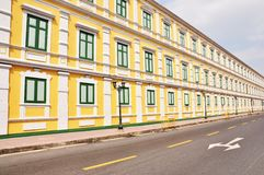 Yellow building Royalty Free Stock Photography