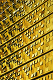 Yellow building facade Royalty Free Stock Photos
