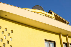 Yellow building Royalty Free Stock Image