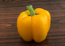 Yellow Bulgarian Pepper Stock Photos