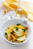 Yellow Bulgur Salad Royalty Free Stock Photos