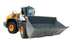Yellow Bulldozer Royalty Free Stock Image