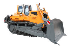 Yellow bulldozer Royalty Free Stock Photography