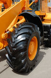 Yellow Bulldozer Stock Photography