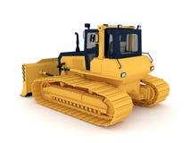 Yellow bulldozer Royalty Free Stock Photography