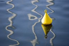 Yellow Buoy Royalty Free Stock Photo