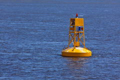 Yellow Buoy Stock Photos