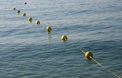 Yellow buoy Royalty Free Stock Photo