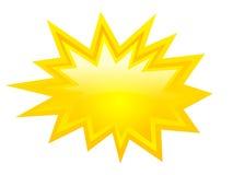 Bursting star icon Royalty Free Stock Image