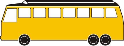 Yellow bus Stock Photos