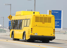 Yellow bus Stock Photography