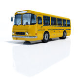 Yellow Buses. Royalty Free Stock Images