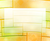 Yellow Business Background Window Stock Image