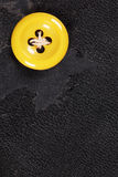 Yellow button Royalty Free Stock Photo