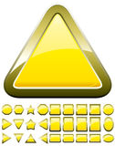 Yellow buttons Stock Photo