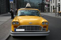 Yellow cab Royalty Free Stock Photos