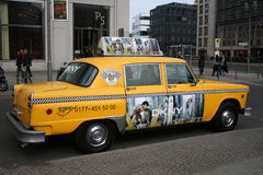 Yellow cab Royalty Free Stock Images