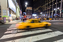 Yellow Cab Stock Photography