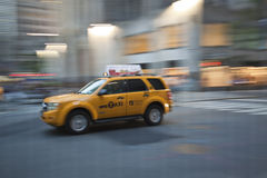 Yellow cab Royalty Free Stock Photo