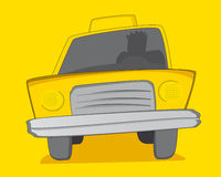 Yellow Cab / Taxi Royalty Free Stock Images