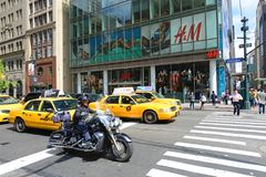 Fifth Avenue, Manhattan, New York City Stock Photos