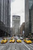 Yellow Cabs - New York City Royalty Free Stock Image