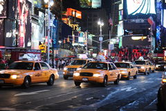 Yellow cabs Royalty Free Stock Images