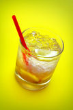 Yellow Caipirinha Royalty Free Stock Images