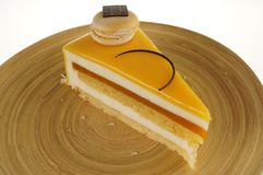 Yellow cake Royalty Free Stock Photography