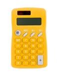 Yellow Calculator Stock Images