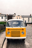 Yellow Camper van Royalty Free Stock Photo