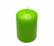 Yellow candle Stock Image