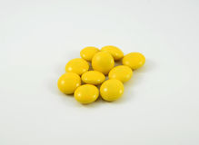 Yellow Candy Royalty Free Stock Photo