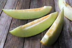 Yellow Cantaloupe Stock Image