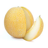Yellow cantelope royalty free stock photography