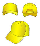 Yellow cap Royalty Free Stock Images