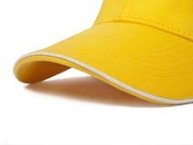 Yellow cap Stock Photo