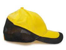 Yellow cap Royalty Free Stock Photography
