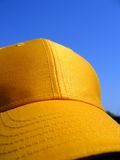 Yellow cap Stock Photography