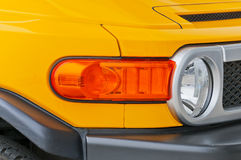 Yellow  Car Stock Photography