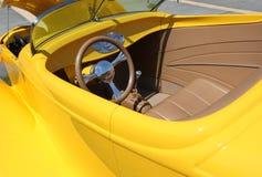 Yellow Car Stock Photo