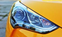 Yellow car light Royalty Free Stock Photo